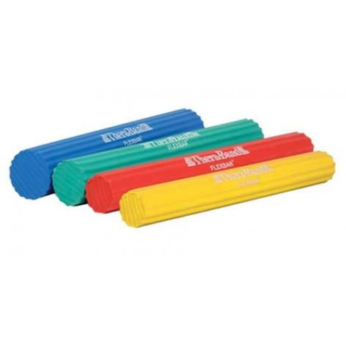 Exercise Bands Bar: Thera-Band Flexbar Yellow Extra Light Hand Exerciser