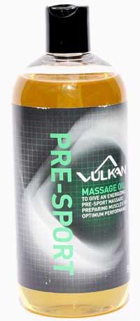 Vulkan Pre Sport Massage Oil